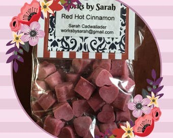 RED HOT CINNAMON wax melts