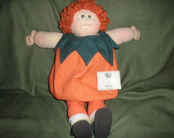 Doll Cabbage Patch Kids Daddy's Darling Punk'kin' Signed