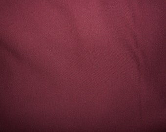 Fabric - cotton sweatshirt jersey fabric - burgundy