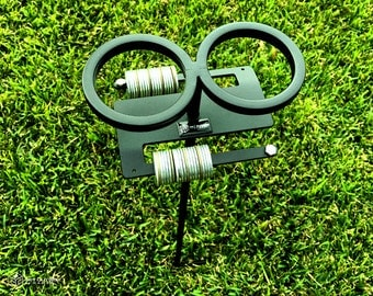 Skolders™ Double Score Ground Stake | Outdoor Game Score Keeper & Drink Holder by Get Outside Games