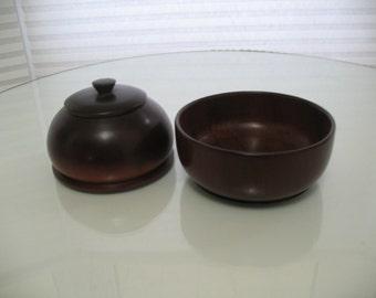African Mahogany bowls