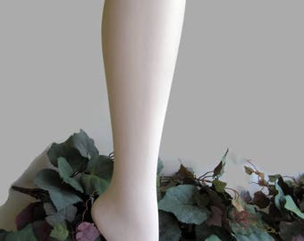 Mannequin Leg; Free Standing Store Display Leg and Foot, Vintage