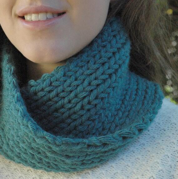 Scarf Knitting Kits Uk : Items similar to chunky scarf learn knit kit on etsy