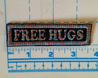 Rainbow  Free Hugs patch
