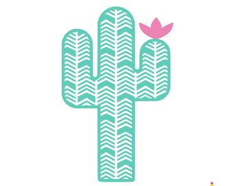 Cactus Car Decal, Car Decals for Women, Cactus Decal, Yeti Decal Cactus, Cactus Decal for Yeti, RTIC Cup Decal, Cactus Decals, Laptop Decals