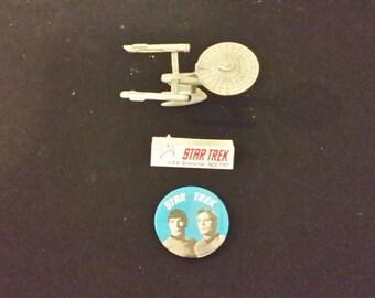 Vintage Rawcliffe Star Trek Enterprise NCC-1701