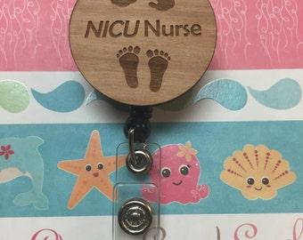 NICU Nurse Badge Reel