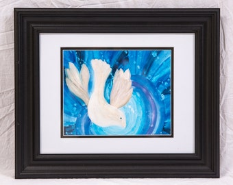 Framed Print: Peace Descends
