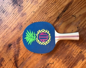 Personalized Ping Pong Paddle