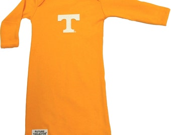 Tennessee Volunteer Baby Layette Gown