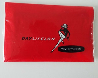Rare Vintage 1960's Taylor Woods Full Fashioned Nylons Seamed Stockings Bri-Nylon In Original Packaging New Old Stock Glamour Pin-Up Hosiery