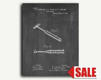 Patent Art - Tack Hammer Patent Wall Art Print