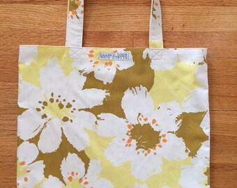 Floral Reversible Tote Bag