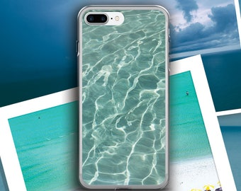 Water iphone case, Pool iphone case, Beach iphone case, Summer iphone case, Tropical iphone case, Ripple iphone case, Waves iphone case