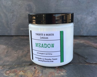 Meadow Body Lotion, Avocado and Shea Butter Lotion