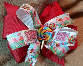 Candy Land Bow