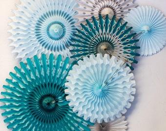 ... bleu canard bleu clair et gris décorations de mariage baby shower