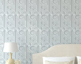 ACANTHUS Wall Furniture Craft Stencil - Greek / Art Deco Stencil AC001