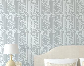 ACANTHUS Wall Furniture Craft Stencil - Greek / Art Deco Stencil AC001