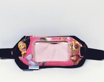Girls Double insulin pump pouch / Iphone & pump