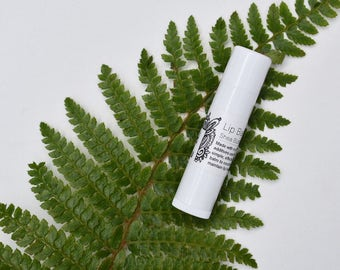 Naked Lip Balm -All Natural, Unscented, Gluten Free, Sensitive skin Lip Balm, Shea Butter Lip Balm