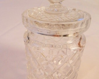 Crystal Sugar Bowl
