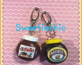 Marmite or Nutella Bag Charm