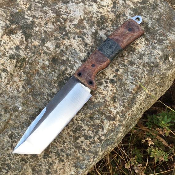 Grunt Tanto: a Custom Fixed Blade Survival Knife