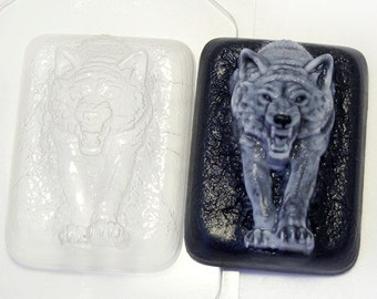 Wolf mold, wolves mold, gift for man, wolf plastic mold, animal mold, bath bomb mold, plastic mold, soap mold, chocolate mold