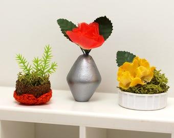 Set of 3 Miniature Vases - Fiesta Collection