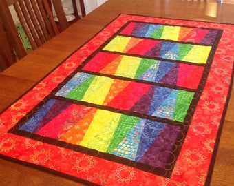 Modern Table Runner or Wall Quilt