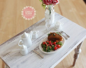 Miniature Lunch Sandwich and Salad