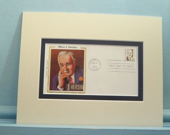 The Great World of Chocolate Candy and the Hershey Bar and the Milton Hershey First Day Cover