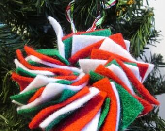 Felt Wreath Ornament, EBC00015