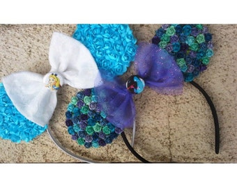 Alice in Wonderland Caterpillar Flower Minnie Mouse Ears