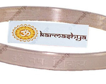 Om Aum Namah Shivaya Adjustable Kada Bangle Bracelet Wrist Hindu Meditation Yoga KD0032