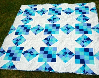Sneaky Stars Quilt pattern by Nellie's Niceties