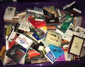 Over 700 Vintage Matchbooks and Matchboxes