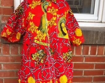 santa maria blouse L womens