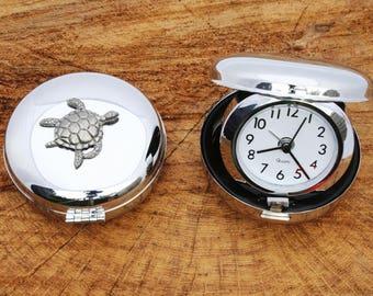 Turtle KR Design Desktop Quartz Movement Alarm Clock Wildlife Gift