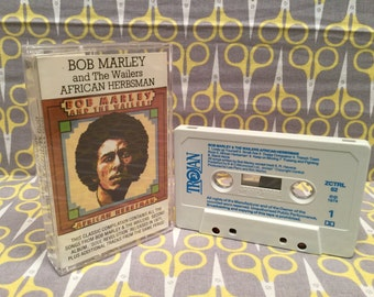 African Herbsman by Bob Marley and the Wailers Cassette Tape reggae soul revolution