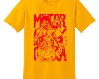 Motor City Cobra Thomas Hearns t-shirt