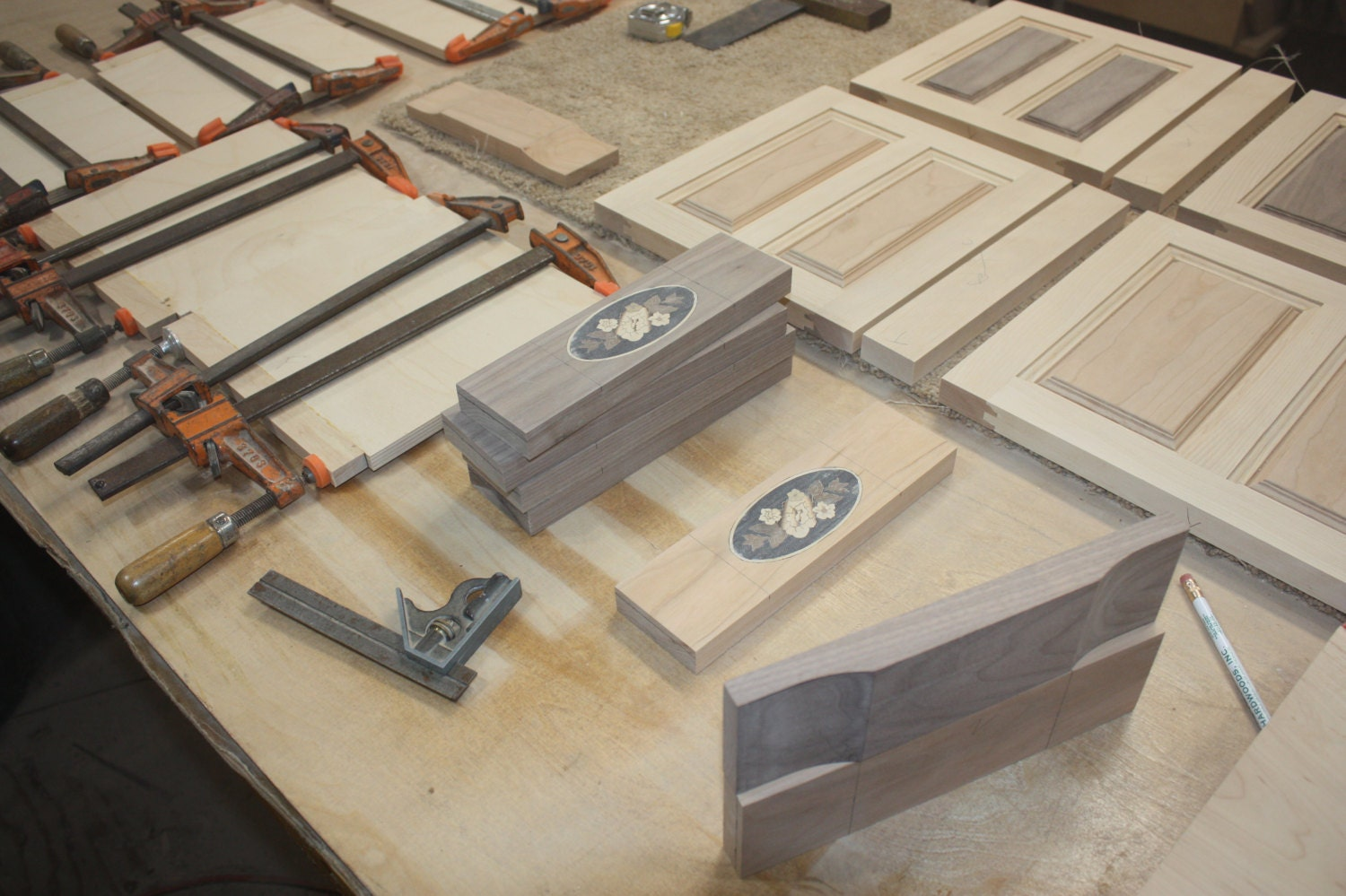 Making a 4 Drawer Jewelry Box with Curved Front