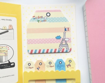 Paris Sticky Notes Index Notes for Planners Notebooks
