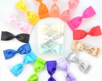 Girl Bows, Hair Bow, Ribbon Bow, Grosgrain Ribbon Bow, Hair Accessories WH100005