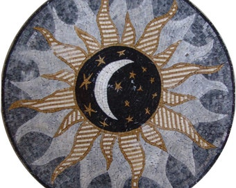 Sun Moon Stars Medallion - Najm II