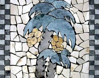 Mosaic Wall Art - Abstract Palm Tree