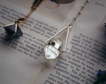 Quartz and Garnet Pendulum