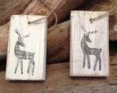 5 Reindeer Ornaments
