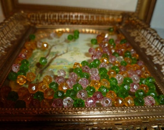 Antique Small Glass Beads From The 1910's - 1920's